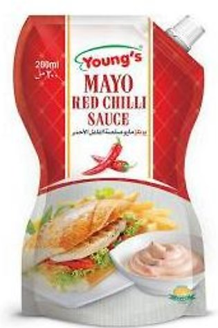 Youngs Red Chilli Mayonnaise  200ml
