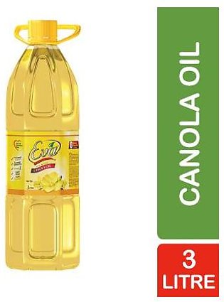 Eva Canola Oil (3 litre) Pet Bottle