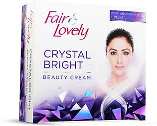 Save Rs.30 on Fair & Lovely Crystal Bright Cream 25gm