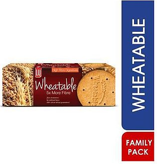 LU Wheatable High Fibre Biscuit  Family Pack
