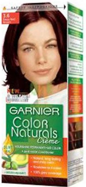 Garnier Color Naturals No 3.6 Deep Red Brown