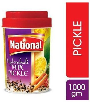 National Hyderabadi Mix Pickle 1000 gm