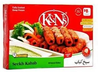 K&N`s Chicken Seekh Kabab 1.08gm F/P