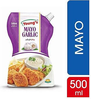 Young's French Mayo Garlic 500 gm