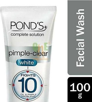 Ponds Pimple Clear White Face Wash 100 gm
