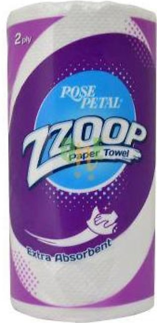 Rose Petal Zzoop Paper Towel 2 Ply 74 Sheets