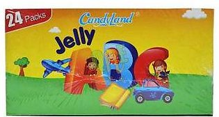 Candyland Jelly ABC Box - 12g x 24 Pieces