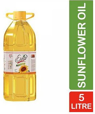 Eva Sunflower Oil Pet Bottle 5 litre