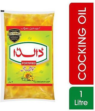 Dalda Cooking Oil Single Pouch 1 Litre