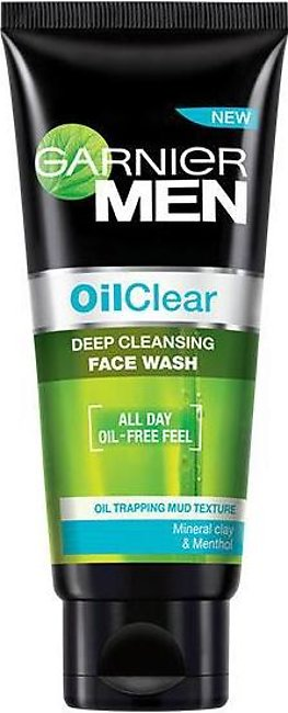 Garnier Men Face Wash Oil Clear 100 ml