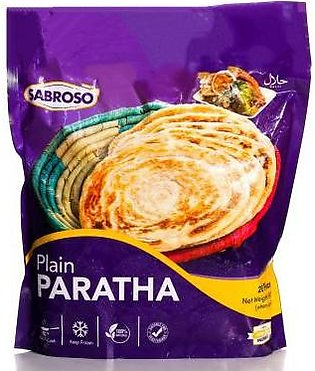 Sabroso Plain Paratha 20pcs Pack