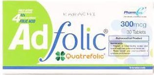 Ad Folic 300Mcg Tablet