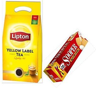 Sooper Family Pack with Lipton Black Tea Pouch 950gm