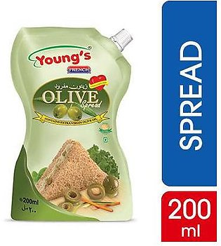 Young's French Olive Spread 200 ml