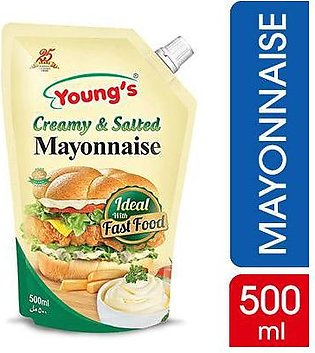 Youngs Creamy & Salted Mayonnaise 500 gm