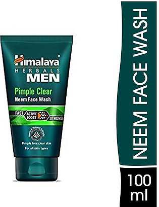 Himalaya Pimple Clear Neem Men Face Wash 100ml
