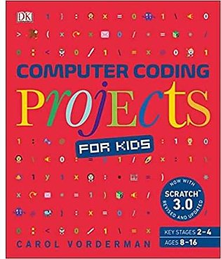 Computer Coding Projects For Kids: A Unique Step-By-Step Visual Guide, From Bin…