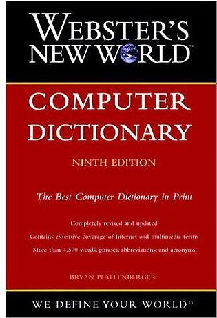 Webster's New World Computer Dictionary (9Th Edition)