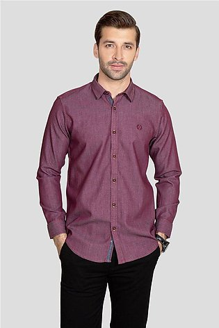 RT Casual Shirt F/S TEX T20701-PUR