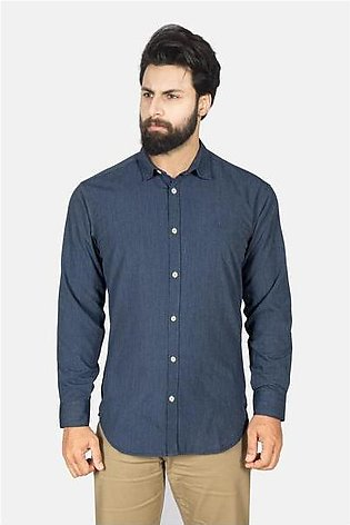 RT Casual Shirt F/S PL P19011-BL