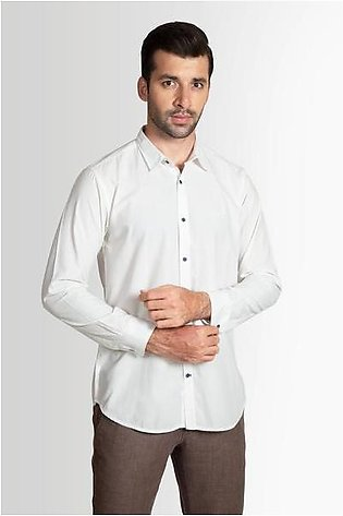 RT Casual Shirt F/S PL P19009-WT - M