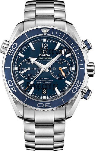 Omega Seamaster Planet Ocean Chronograph Blue Dial Watch