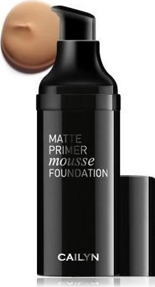 Cailyn Matte Primer Mousse Foundation Charmeuse