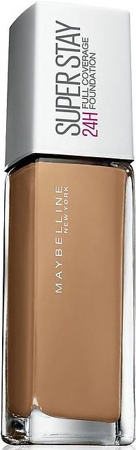 Maybelline Superstay 24H Full Coverage Foundation Amber 49