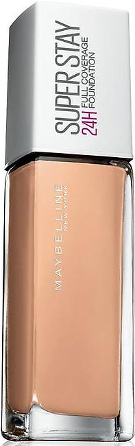Maybelline Superstay 24H Full Coverage Foundation Nude 21