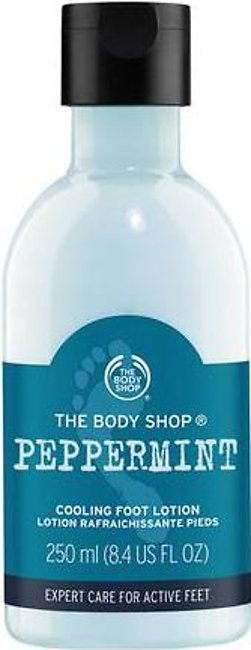 The Body Shop Peppermint Cooling Foot Lotion 250 ML