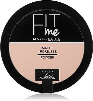 Maybelline fit Me Powder 120 Classic Ivory
