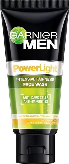 Garnier Men Powerlight Face Wash 100 ML
