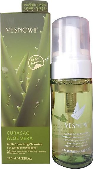Yesnow Curacao Aloe Vera Bubble Soothing Cleansing Gel 120ml