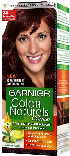 Garnier Color Naturals Hair Color Creme Raspberry Black 2.6