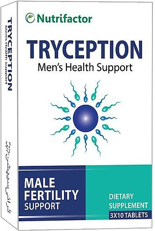 Nutrifactor Tryception Male Fertility Support 30 Tablets