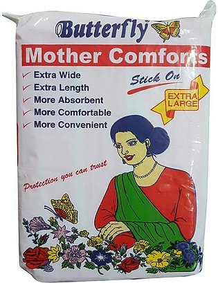 Butterfly Mother Comforts Extra Large 10 Pieces