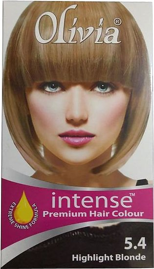 Olivia Intense Premium Hair Colour 5.4 Highlight Blonde
