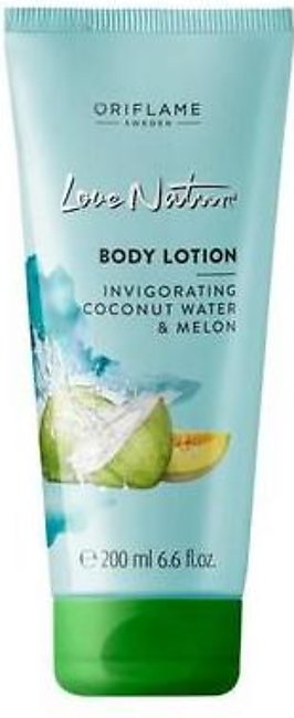 Oriflame Love Nature Body Lotion Coconut Water & Melon 200 ML