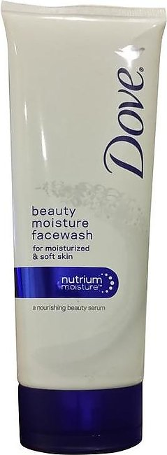 Dove Beauty Moisture Face Wash for Normal to Dry Skin 100 Grams
