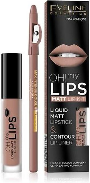 Eveline Oh! My Lips Make Up Set 01 Neutral Nude