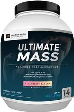 Indus Sports Nutrition Ultimate Mass Gainer Strawberry Banana 4 Lbs