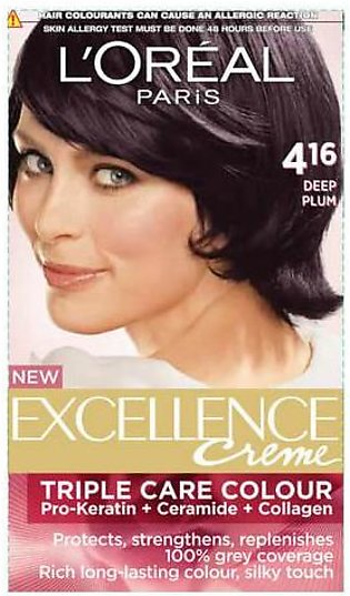 L'Oreal Excellence Cream Burgundy Brown 4.16