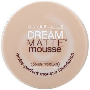 Maybelline Dream Matte Mousse Foundation Light Porcelain 04