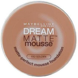 Maybelline Dream Matte Mousse Foundation Golden 32