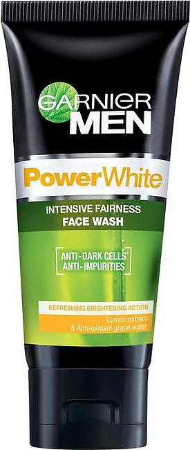 Garnier Men Power White Intensive Fairness Face Wash