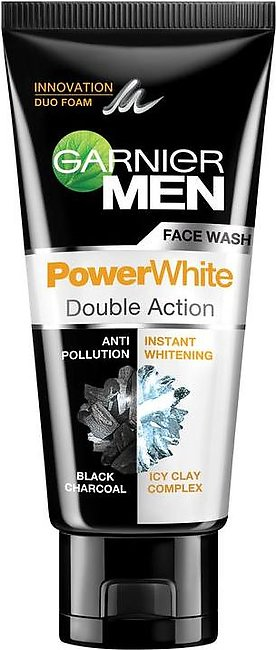 Garnier Men Power White Double Action Face Wash 100 ml
