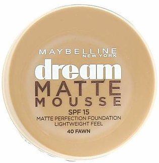 Maybelline Dream Matte Mousse Foundation Caramel 60
