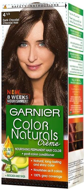 Garnier Color Naturals Hair Color Creme Dark Chocolate 4 1/2