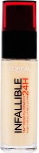 L`Oreal Infallible 24H Foundation 200 Golden Sand