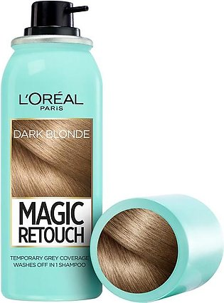 L'oreal Paris Magic Retouch Root Touch Up Hair Color Spray - Dark Blonde 75ML